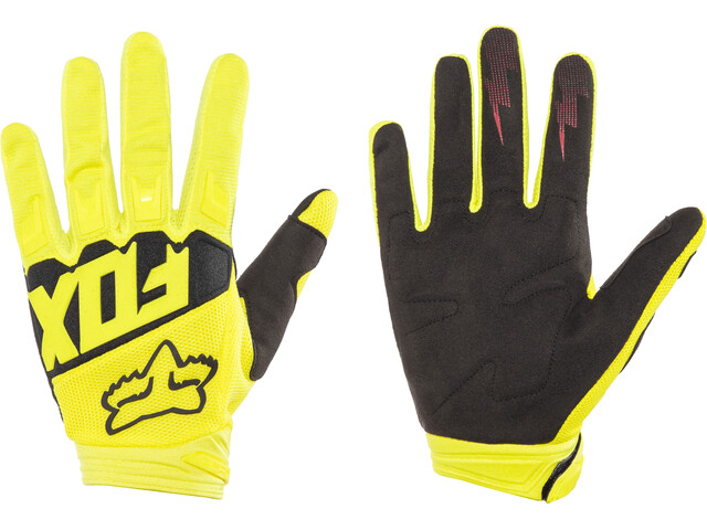 Fox Dirtpaw Race Gloves Boys Yellow